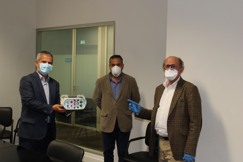 hospital-de-vila-franca-de-xira-Hospital recebe ventiladores oferecidos pela Comunidade Intermunicipal da Lezíria do Tejo