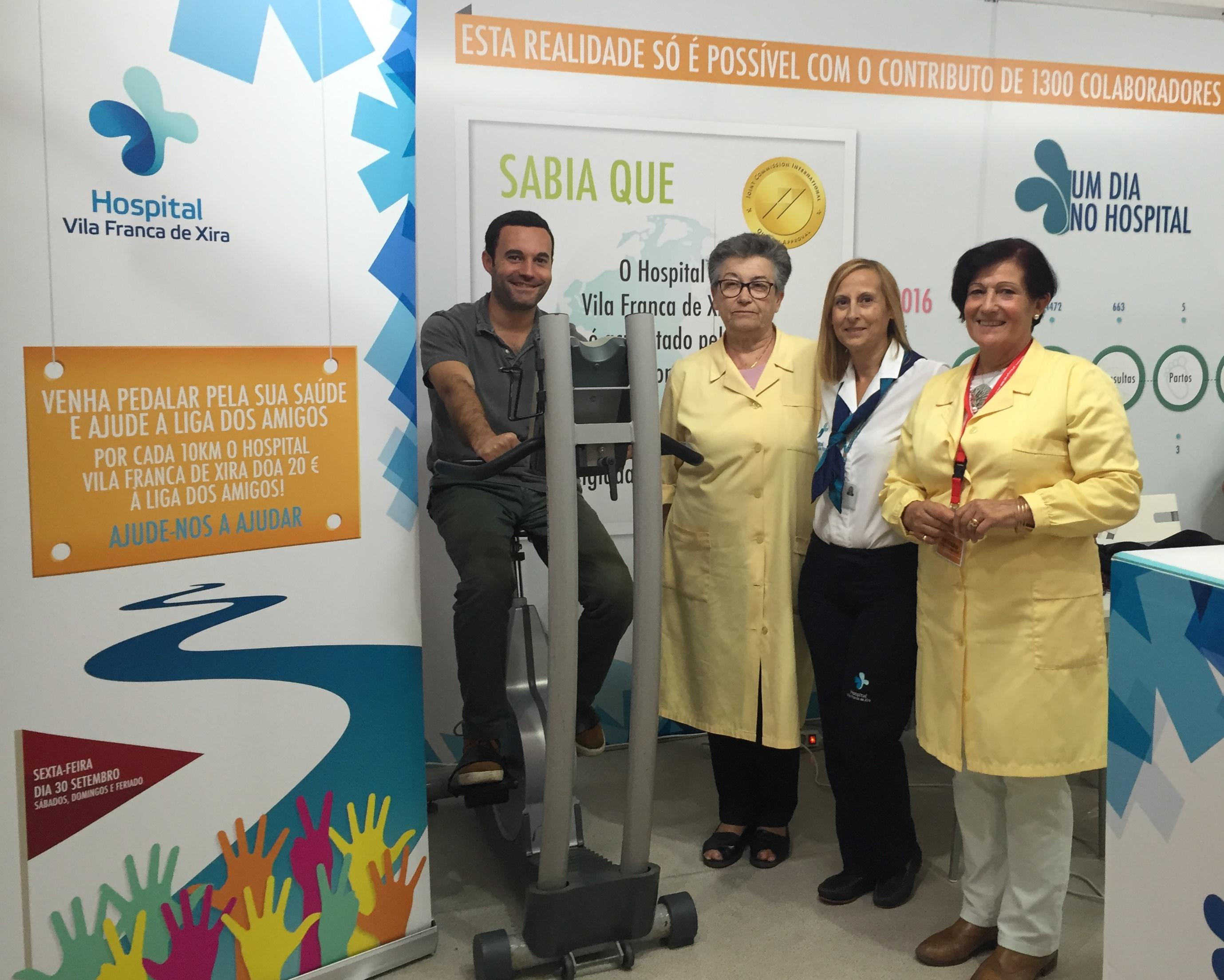 hospital-de-vila-franca-de-xira-Hospital promove iniciativas de solidariedade e de prevenção na feira anual de Vila Franca de Xira