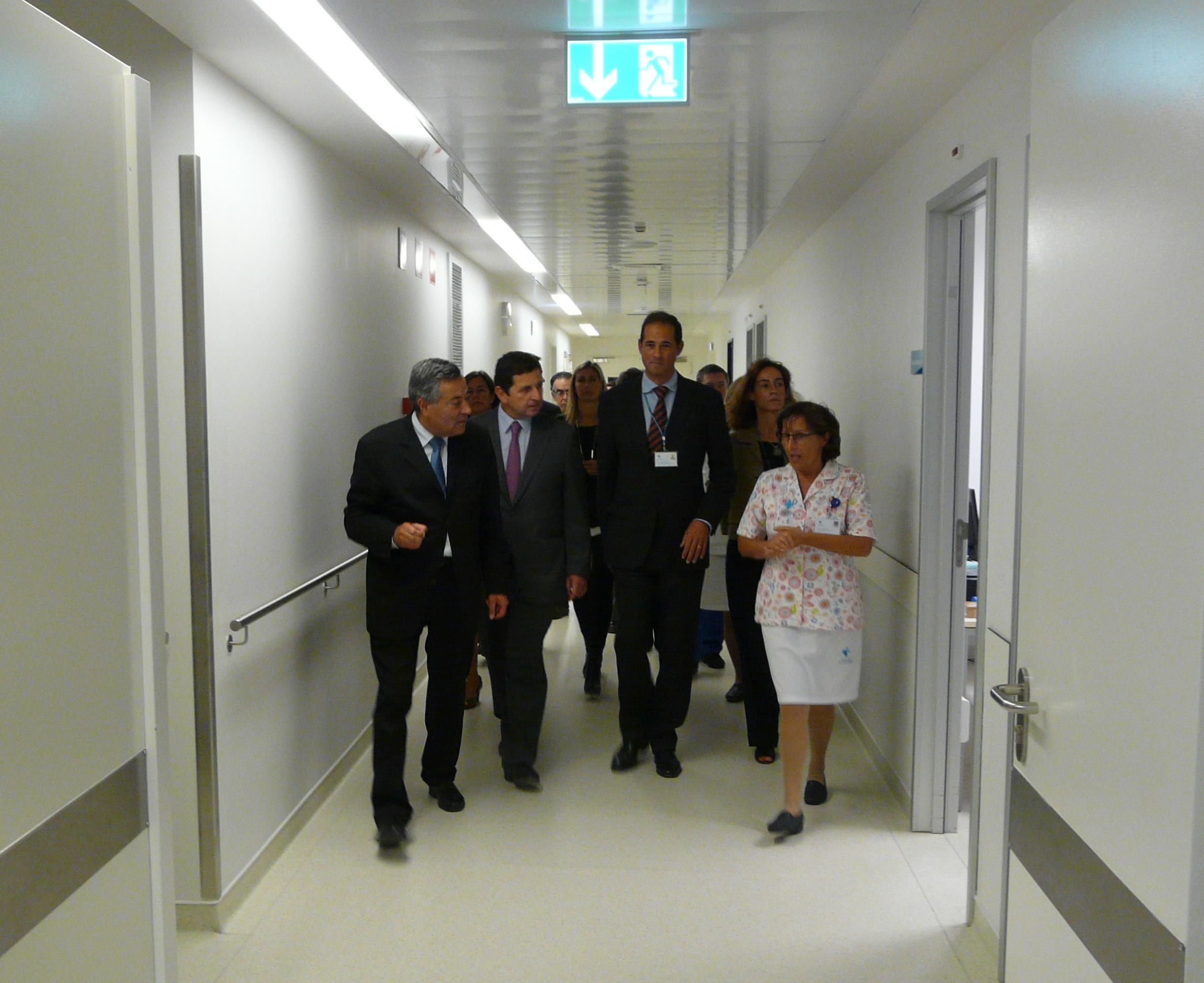 hospital-de-vila-franca-de-xira-Hospital Vila Franca de Xira recebe visita de Secretário de Estado da Saúde