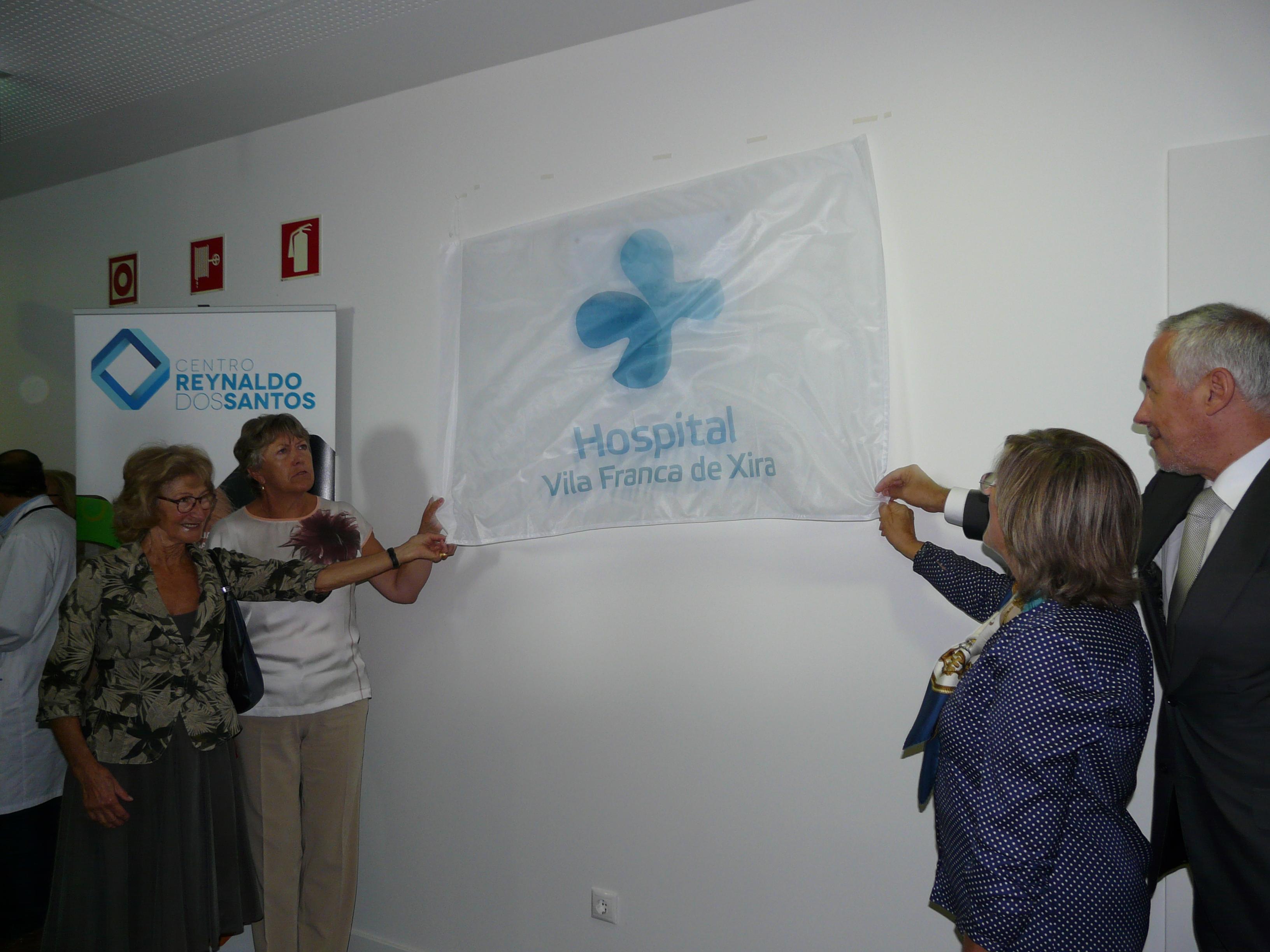 hospital-de-vila-franca-de-xira-Inauguração do Centro Reynaldo dos Santos